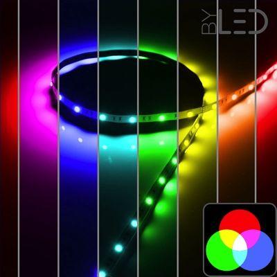 Strip IP65 5050 RGB - 7,2W à 14,4W/m