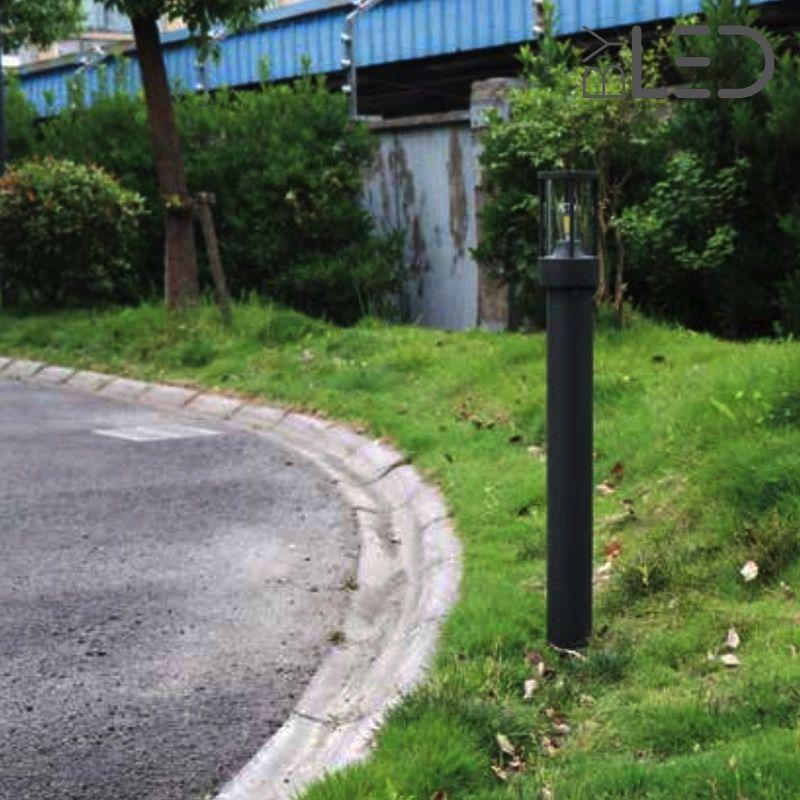 Borne d\'extérieur moderne E27 - Éclairage Jardin - ByLED.fr®