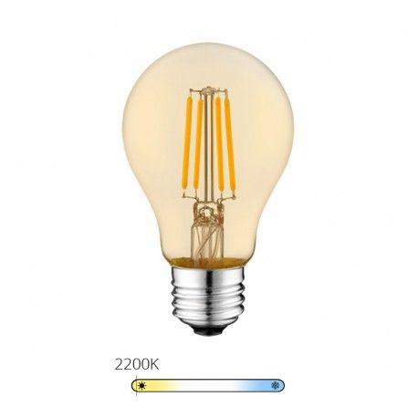 Ampoule LED à filament Bougie - Blanc Chaud - E14 – 4W - Dimmable