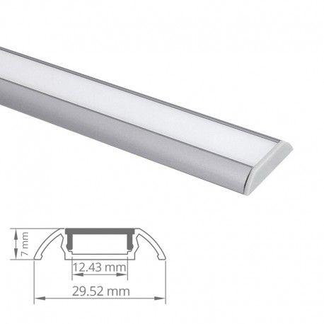 Profilé Aluminium Plat Pour Ruban Led Craft C11