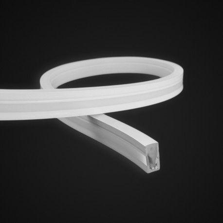 Tube néon flex large pour ruban LED - latéral – L1020