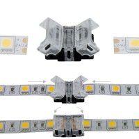 Jonction rapide ruban LED Mono IP20 10 mm - 2p