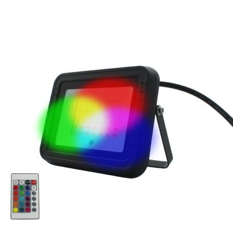 Projecteur LED RGB 30W – IR