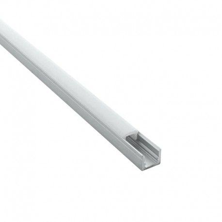 Profilé LED aluminium ruban LED ultra étroit – CRAFT – C14 - Diffuseur givré
