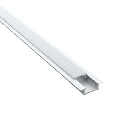 Profilé aluminium encastrable pour ruban LED - CRAFT - E01