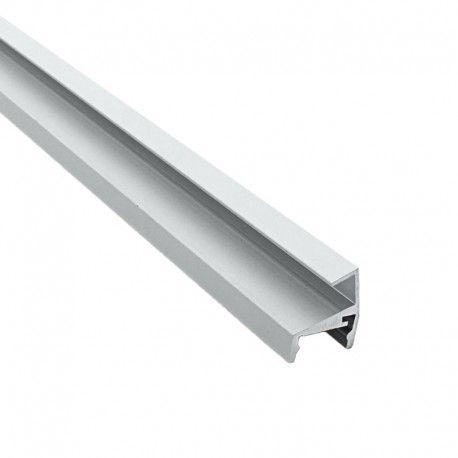 Profilé aluminium étagères en verre 8 mm pour ruban LED - CRAFT - V02