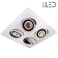 Spot LED encastrable orientable IP64 - BBC - RT2012 - PYXIE-28