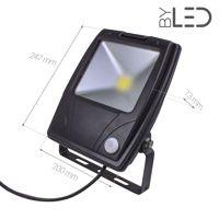 Projecteur LED Design à détecteur 30 W - 230V - RHINO