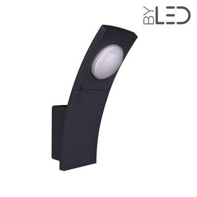 Applique LED murale extérieure anthracite - 6W - 230V - PROME